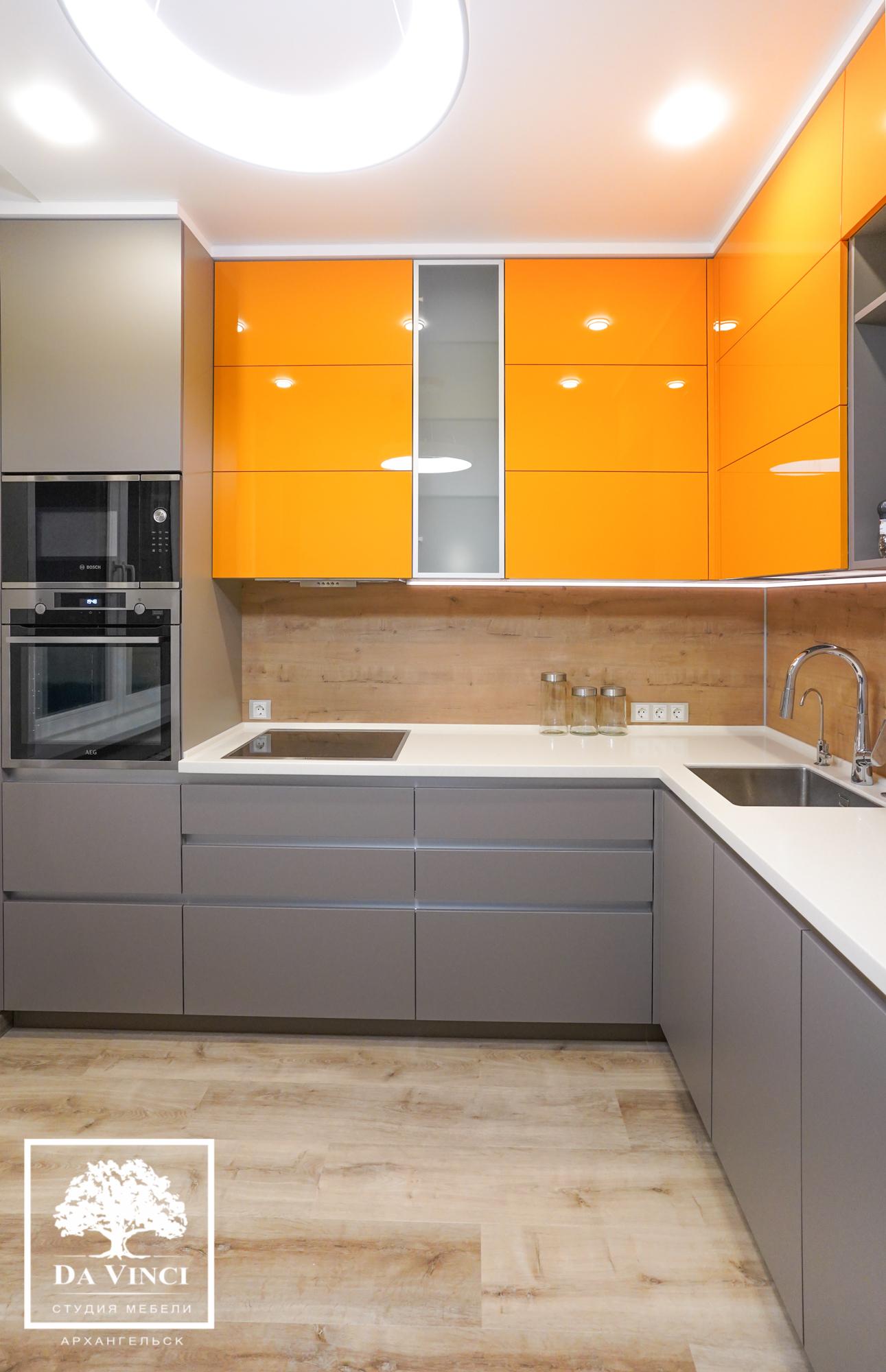 Проект квартиры. Кухня