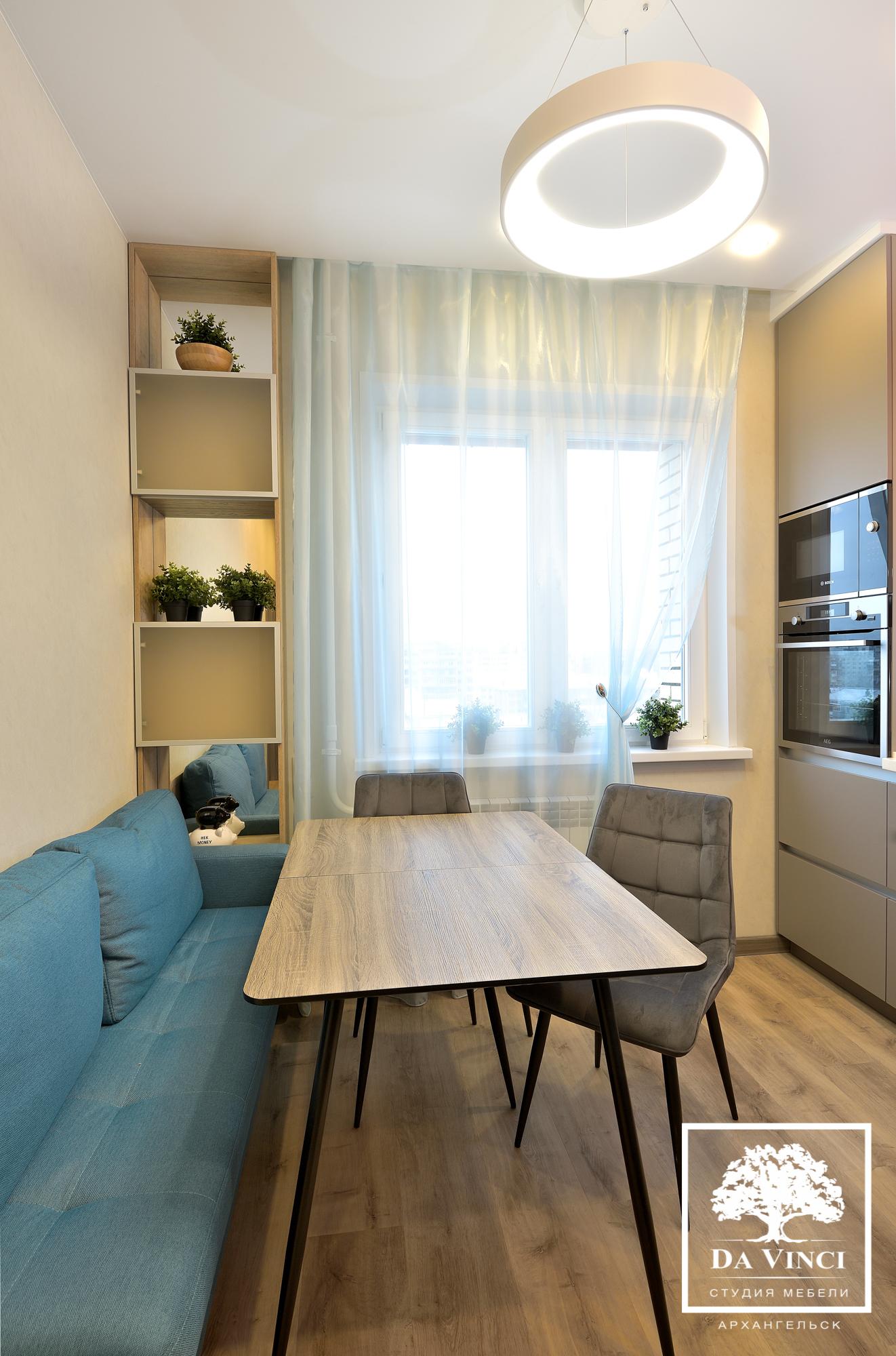 Кухня Проект квартиры.